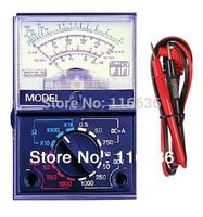 1pc Analogic Multimeter multitester voltimeter ammeter battery tester 9V 3V 1.5V cell button analyzer pocket CR2032 AG13 AG4