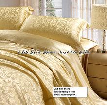 silk bedding set promotion