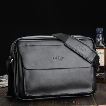 New arrive Male shoulder bag casual messenger bag genuine leather business bag man vintage bag