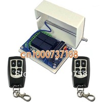 Free shipping DC12V 4CH Learning code 4 channel wireless rf remote control switch 315MHZ/433MHZ transmitter and receiver system