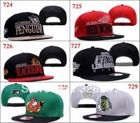2013 Unisex Snapbacks Backstrap hat ice hockey hats  free shipping sport women's cap and sports men's caps cheap snapback