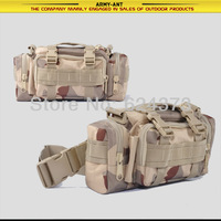 3-color Desert Camo Camouflage  Tactical Military Molle Airsoft Utility 3-way Carry Waist Shoulder Hand Bag Pouch