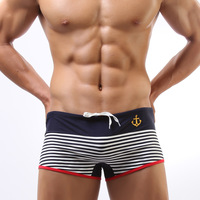 2 onmuch swimming trunks male fashion hot springs swimming pants swimwear male 4 plus size available