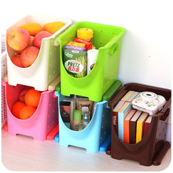 Has the kitchen fruits and vegetables to receive basket, plastic debris receive basket storage(China (Mainland))