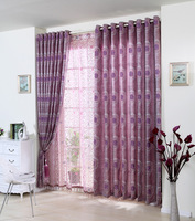 Dodechedron fashion big jacquard curtain modern brief finished products