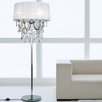 new arrival Modern brief crystal floor lamp romantic bedside lighting lamps 6133l  free shipping