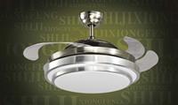 new arrival Ceiling fan light modern brief fashion folding fan lights invisible fan lights  free shipping