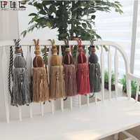 Curtain window screening exquisite pendant lashing bandage hanging ball modern d2207