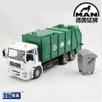 Eco-friendly truck garbage truck clean car toy car model child