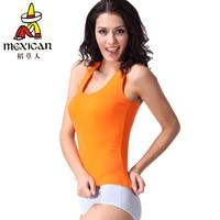 3 all-match tank female basic spaghetti strap vest 100% cotton basic vest female