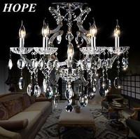 2014  Superir modern crystal ceiling lamp  E14 light source