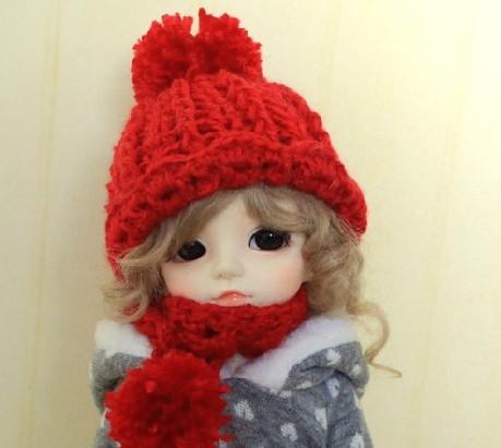Free shipping 1/3 1/4 1/6 1/12 high quality fashion cute doll hat(China (Mainland))