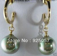 beautiful 12mm shell pearl earringsFashion jewelry