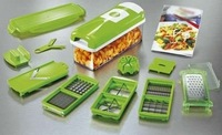 Free Shipping Nicer Dicer Plus As Seen On TV,Dice Chop Julienne Fruit Vegetable Multi-Chopper,Food Slicer