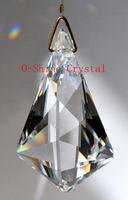 5pcs 76MM  CLEAR CRYSTAL PRISM  SUNCATCHER FREE SHIPPING