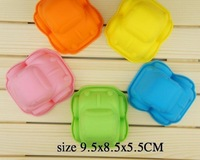 DIY Silicone Cake Chocolate Soap Mold Car pastry molds 10pcs/lot Free shipping wholesale