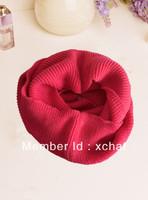 100% acrylic colourful fashion ring scarf