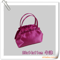 Purple handbag cosmetic bag wash bag multifunctional bag advertising gift customize logo cosmetic bag