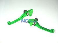 CNC PIVOT BRAKE CLUTCH LEVERS For Kawasaki KX250F 05-12 KX450F 06-12 KX 250F G