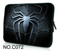 "Spider logo 10"" 10.1"" Neoprene Soft Netbook Laptop Tablet PC Sleeve Case Bag Cover Pouch  FOR ipad 4 3 2 1"