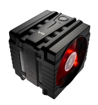 Cooler Master V6 2011 CPU PWM fan super six heat pipe radiator