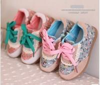 Free shipping 2013 children shoes beautiful female child sport shoes casual shoes child baby sport shoes