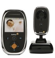 2.4GHz 2.5 inch LCD Safety wireless baby monitor Free Shipping