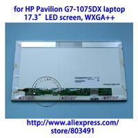 "for HP Pavilion G7-1075DX laptop, 17.3"" LED WXGA++ Glossy HD LCD Laptop Screen"
