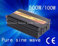 Hot selling!48V to 110V 500W/1000w pure sine wave power inverter/invertor/inversor (CTP-500W)