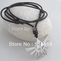 Legend of Zelda Natural Leather Cord Surfer Necklace