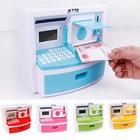 Ultralarge like atm piggy bank piggy bank piggy bank oversized mini black and white tv alarm clock