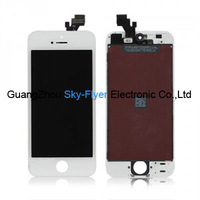 Crazy promotion: For iPhone 5 5G tested good lcd assembly with digitizer screen for replacement black white