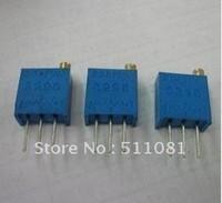 Free shipping 100PCS 3296W-1-101LF 3296W 3296 100 OHM Trimpot Trimmer Potentiometer