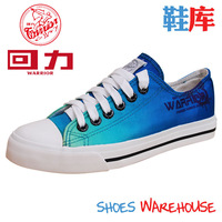 Warrior shoes hot-selling WARRIOR low canvas shoes casual shoes WARRIOR men's wxy-62