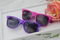 freeshipping  women's Beach  sunglasses midin  sun-shading glasses  purple and pink colors
