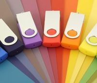 20pcs Full Capacity Swivel 4G 8G USB Disk free shipping 1001