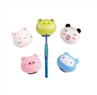 Cartoon animal toothbrush holder