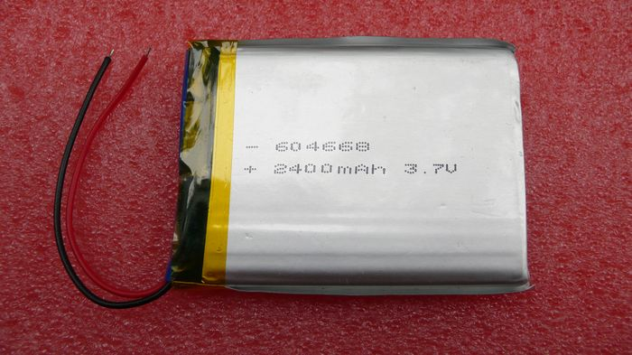 For 3.7v2400mah polymer lithium battery 604668 rechargeable battery pda lithium battery game machine battery(China (Mainland))