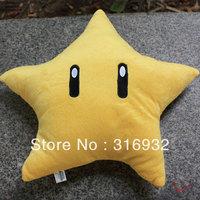 J1 Free shipping, Super mario Nintendo plush pillow toy 25cm 1pc