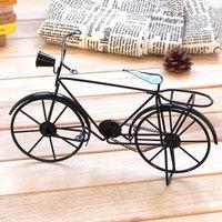 Nostalgic memory classic vintage male bicycle model iron decoration birthday gift
