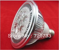 New Design With Big Lens 7W High Power LED Par Spot Light 7x1W LED Bulb Lamp E27 E26 B22 Sockets AC85-265V DC12V DC24V