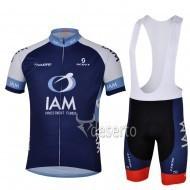 free shipping!Wholesale 2013 IAM Dark blue cycling clothing of bib shorts/Cycling Wear/Cycling Clothing/Bike Jersey/Size:XXS-4XL