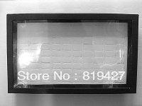 Free Shipping,Wholesale 4pcs/lot White sponge Jewelry Rings Display Show Case Organizer Tray Box 100 Slots