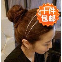 0923 dream double rhinestone hair bands headband crystal hair accessory hair accessory