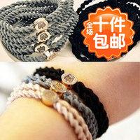 4410 accessories none seam headband hair accessory ultra elastic twisted hair rope hair accessory