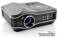 Top Rank! Digital Home thater DVD LED Projector with Game Control ,TV Tuner ,USB ,VGA ,AV Factory Original
