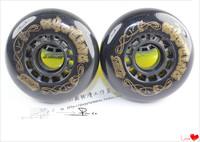 Hearts . roller brake wheel high wear-resistant    8PCS
