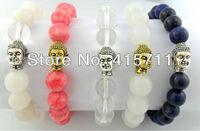 (5 pieces/lot) Yoga Mala Meditation Buddist Prayer Buddha Beads Bracelet