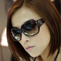 2014 big box female sunglasses polarized sun glasses myopia sunglasses large vintage sunglasses star