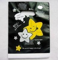 25*35cm, gift bag plastic plastic bags , garment bag shopping bag